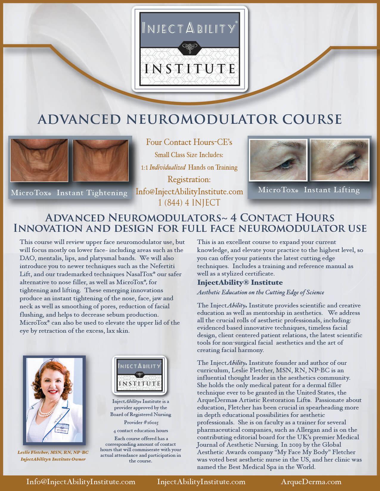 , Advanced Neuromodulators